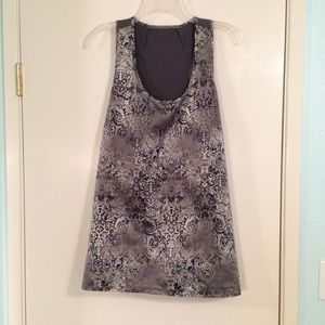 Maurices silver gray tank top